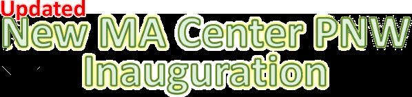 New PNW Center Inauguration